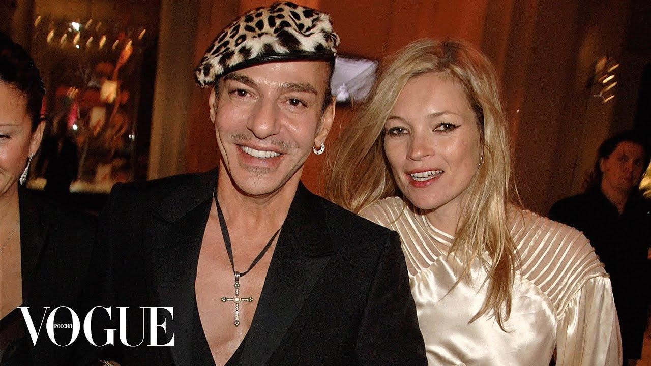 Подкаст Vogue Джон Гальяно и Кейт Мосс озвучивает Виктория Толстоганова