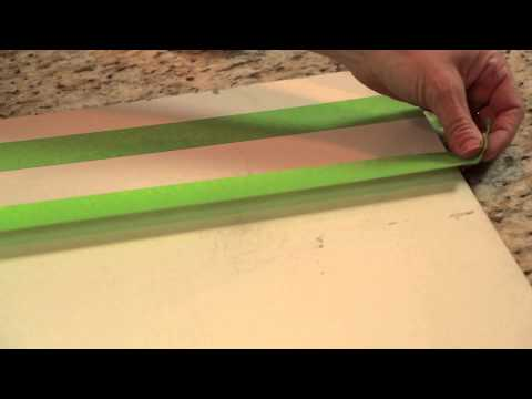 How to Paint Room Decorations With Tape : DIY Home Decor Tips