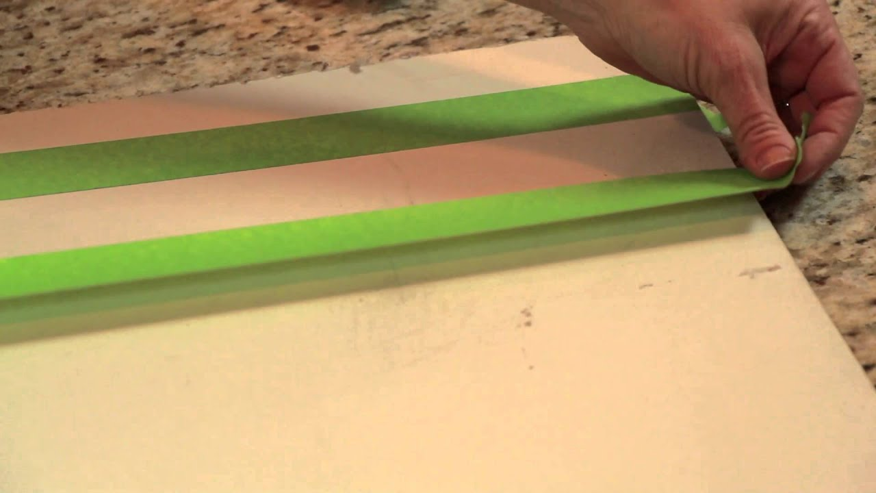How to Paint Room Decorations With Tape : DIY Home Decor Tips - YouTube