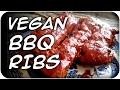 BEST Vegan BBQ Ribs | Seitan Ribs (68)