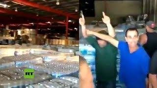 Puertorriqueños descubren suministros no utilizados tras el huracán María de 2017