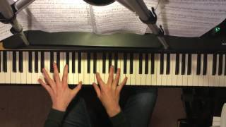 RADIOHEAD - Jigsaw Falling Into Place [piano cover]