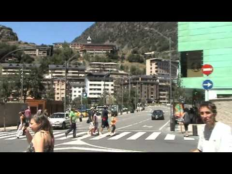 Andorra la Vella - People walking in the streets