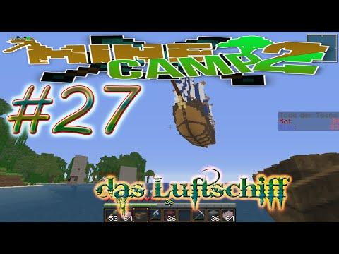 das Luftschiff in lets Play Minecamp 2.0 Minecraft 1.7.2 27