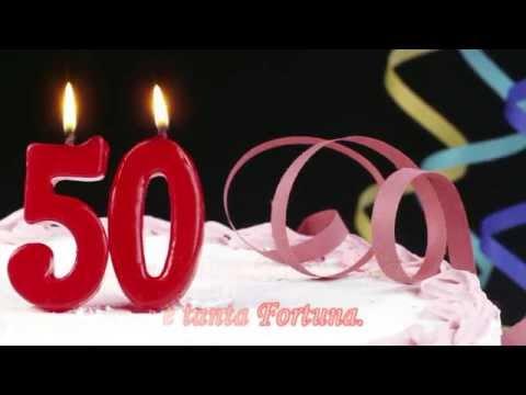 Un Augurio Speciale Dalle Tue Amiche E Amici Per I Tuoi 50 Anni