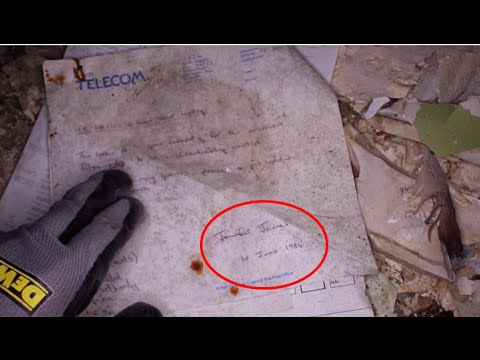 Exploring Secret Government Facility (Found WW2 Documents!)