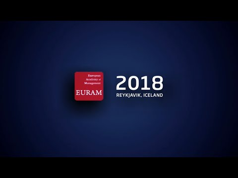 EURAM conference in Reykjavik, Iceland - June 2018
