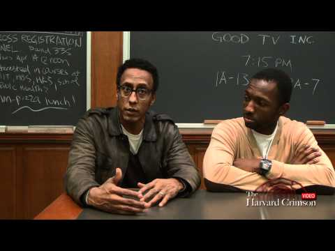 Cast of 'The Wire' Visits Harvard