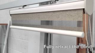 Vision Duo Roller Blind Quick Demo