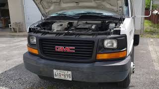 2005 GMC Box Truck being sold at Public Auction 5-22-19
