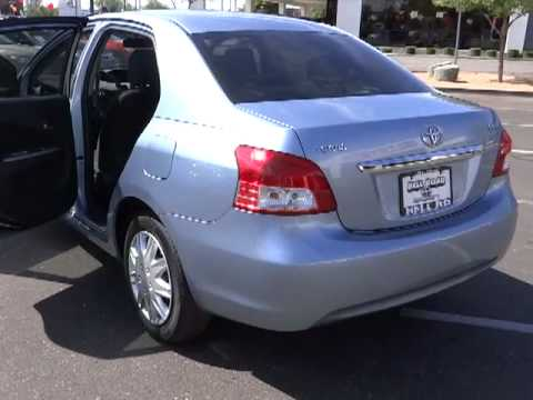 2010 toyota yaris sedan 4d phoenix az 00520376 youtube. Black Bedroom Furniture Sets. Home Design Ideas