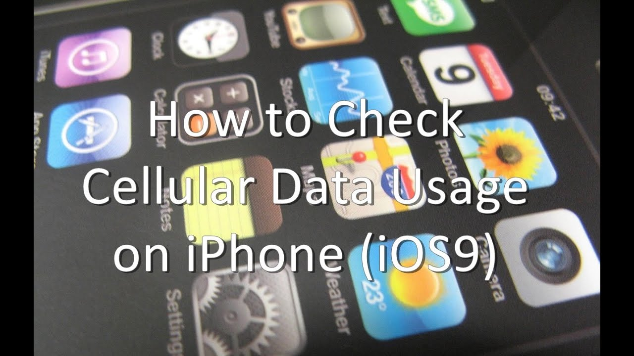 check data usage iphone how to check cellular data usage on iphone and 6026