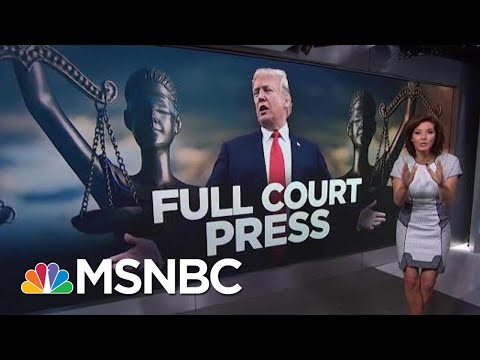 President Trump Suggests He Is Being 'Persecuted' By His Legal Enemies | Velshi & Ruhle | MSNBC