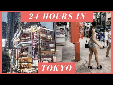 24 HOURS IN TOKYO // TRAVEL VLOG 2017