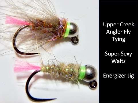 Sexy walts worm fly pattern