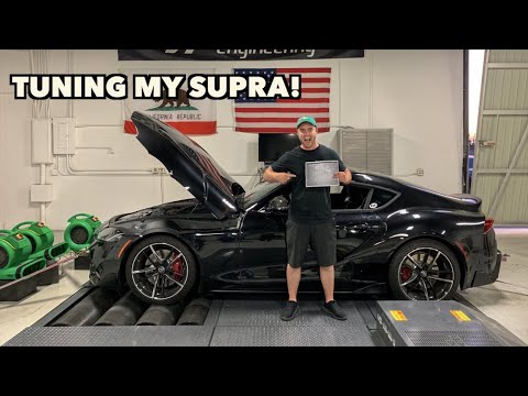 TUNING MY 2020 TOYOTA SUPRA WITH 300 MILES ON IT!