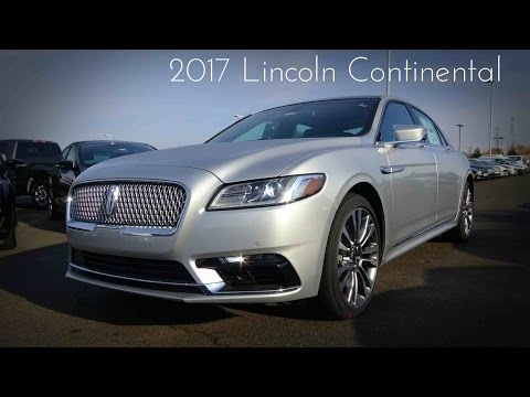 2017 Lincoln Continental 2.7 L Turbocharged V6 Ecoboost Review