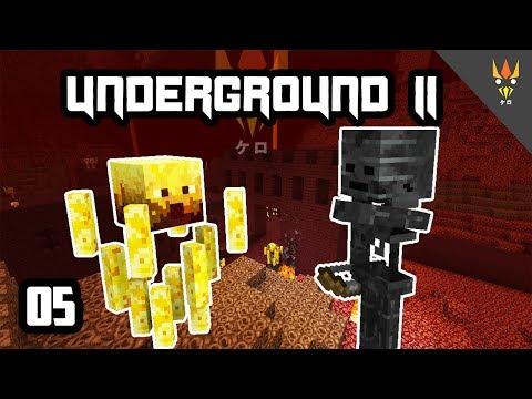 KETEMU BLAZE? KABUUUR!! - Minecraft Underground 2 Indonesia #5