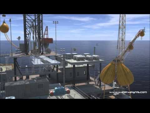 Water Weights on Offshore Rigs -Video Property of Water Weights (tm)