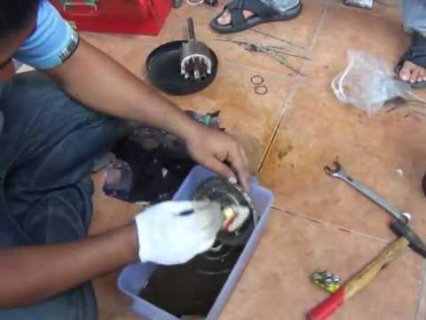 วิธีซ่อมมอเตอร์(แอร์)081-550-9992ตอน2.