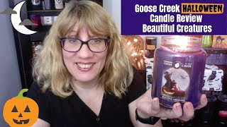 Goose Creek Halloween Candle Review - Beautiful Creatures