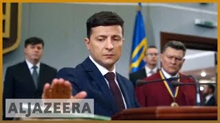 🇺🇦 Who is the comedian poised to win Ukraine's election? | Al Jazeera English