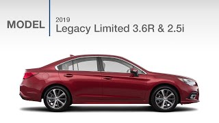 2019 Subaru Legacy Limited 2.5i and 3.6R | Model Review