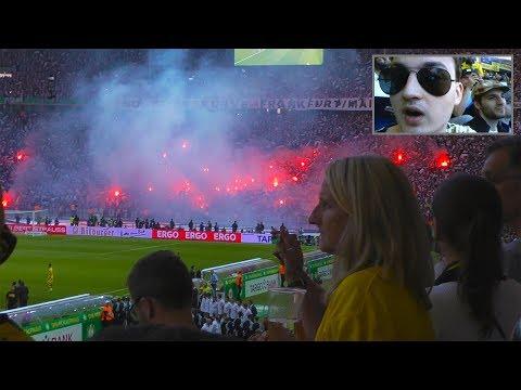 DFB-POKAL FINALE ESKALIERT - Dortmund vs. Frankfurt | Stadionvlog