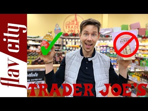 10 Healthy Pantry Items To Buy At Trader Joe's...And What To Avoid (And They Kicked Me Out!!)
