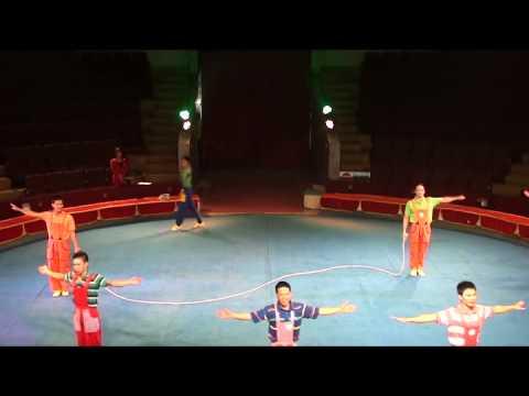 Nhảy dây - Liên đoàn xiếc Việt Nam