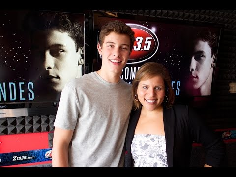 Pina interviews Shawn Mendes on Z103.5!