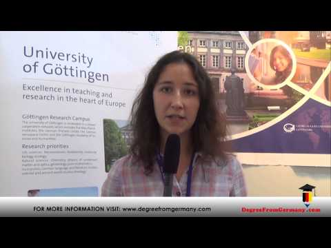 Best study courses offered at University of Gottingen