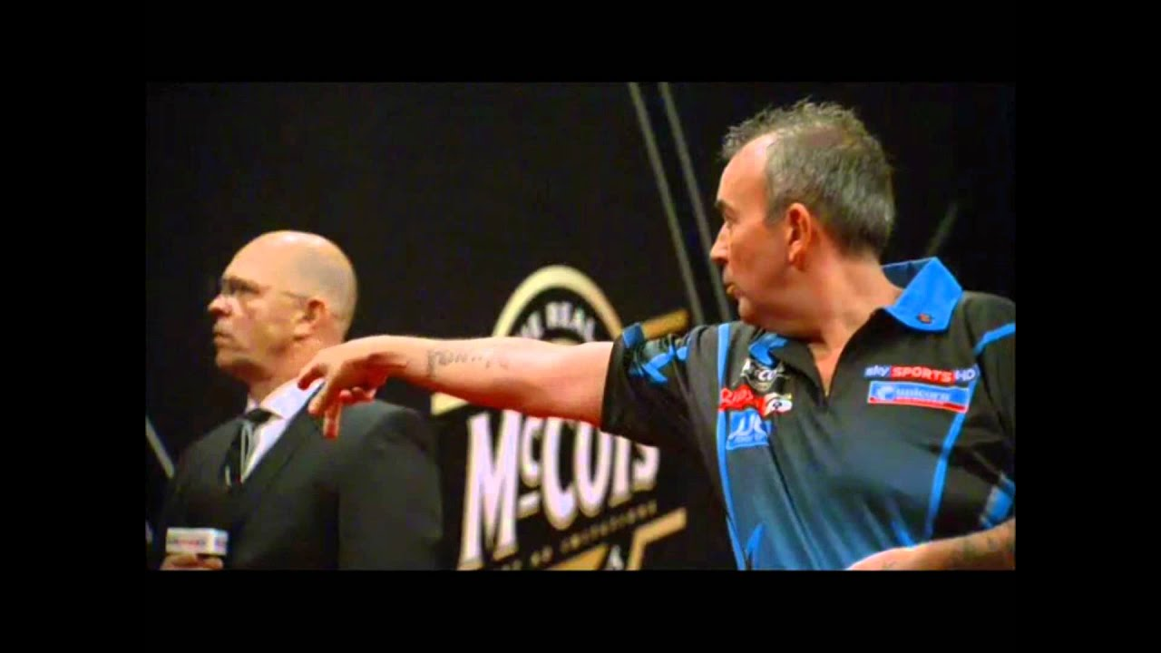 phil taylor throw