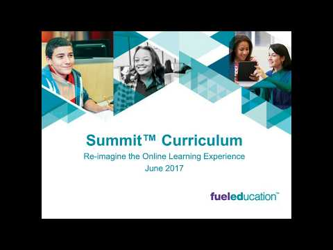 Re-imagine Your Online Learning Experience with Summit Curriculum