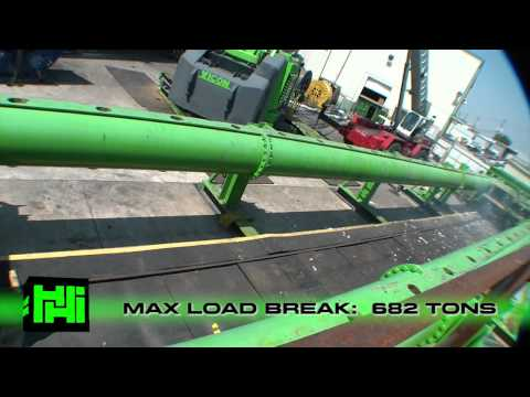 Break Test - Max Load 682 Tons