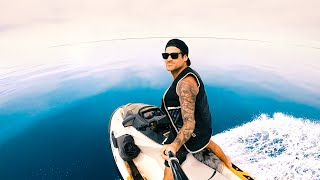 MOST AMAZING WEATHER EVER Exploring Remote Islands With My Dad On The Jet Skis - Ep 213
