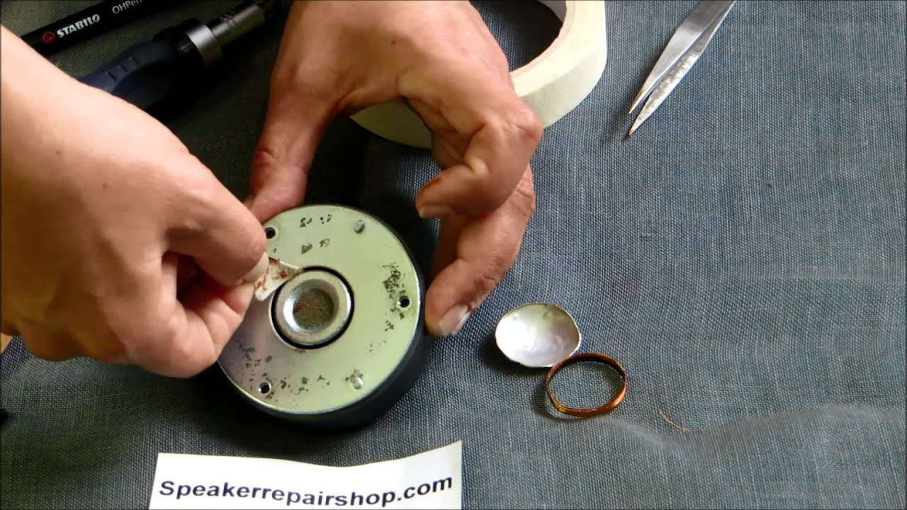replacing a b&w diaphragm for the series 601 s2, 602 s2, 603 s2, 604 s2,605  s2