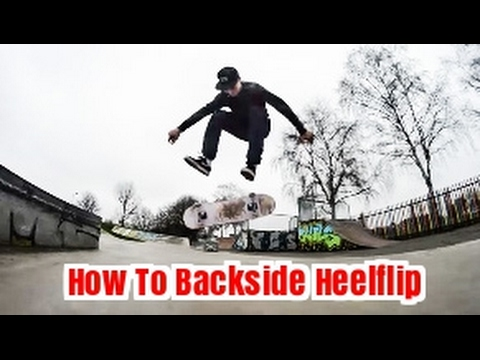 How To Backside Heelflip With Jude lenet