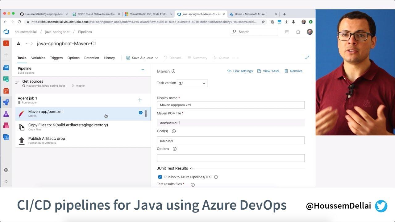 Java CI/CD using Azure DevOps