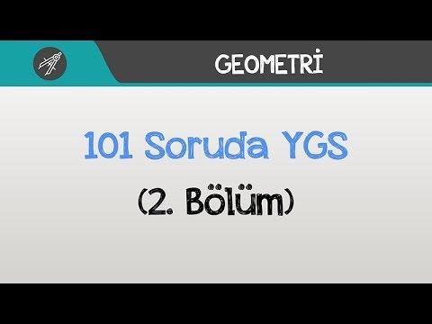 101 Soruda YGS Geometri - (2.Bölüm)