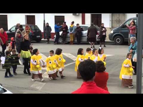 Carnaval escolar en Aznalcóllar Febrero 2016