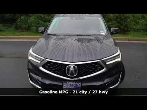 New 2019 Acura Rdx Arlington Va Acura Washington Dc Dc Kl000986