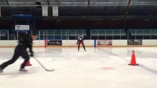 Dynamic Skills Training Coach Bryan Deasley Practising Passing Drills