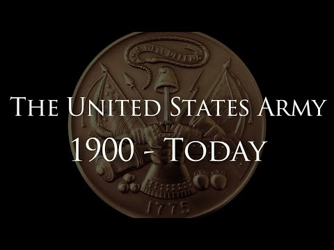 """The United States Army: 1900 - Today"" - A History of Heroes"