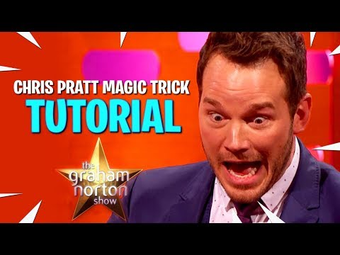 Chris Pratt Magic Trick – TUTORIAL