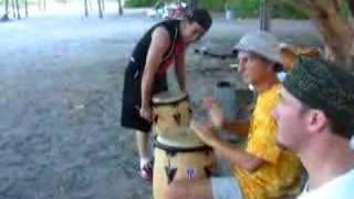 Rumba Cubana en playa de Miami