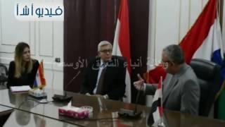 محافظ المنيا يبحث مع سفير بارجواى دعم آواصر التعاون وزيادة التبادل التجاري