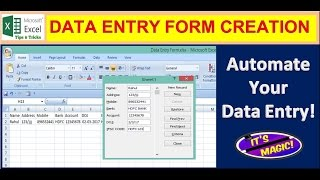 data entry form||how to create a data entry form in excel||data entry form in excel|Global Solutions