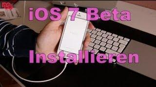 How to: iOS 7 (Beta) auf dem iPhone installieren [Deutsch/ German] [HD]