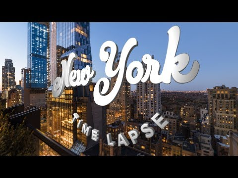 Sleepless in New York Time Lapse Your Videos